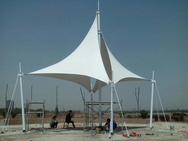 膜结构景观篷